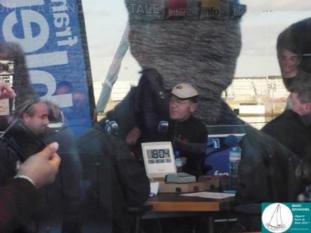 Franck-Yves Escoffier, skipper de Crêpe Whaou ! 3.
