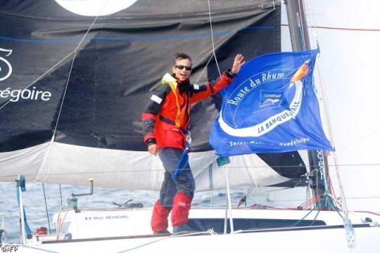 Marc l'a fait ! Il est allé au bout de sa traversée et termine 35e de la Route du Rhum 2010!