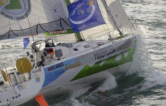 Willy Bissainte (Tradition Guadeloupe), 36e de la Route du Rhum - la Banque postale 2010.