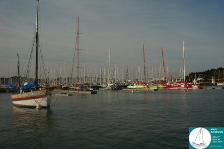 Le port de la Trinité-sur-mer, 5 mai 2011.