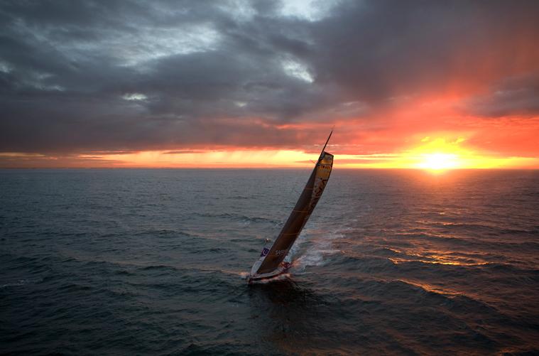 Safran en mer quelques jours avant la Route du Rhum 2010 (www.safransixty.com)