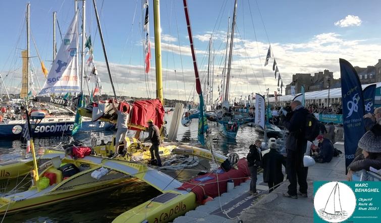 Les bateaux de la Route du Rhum 2018